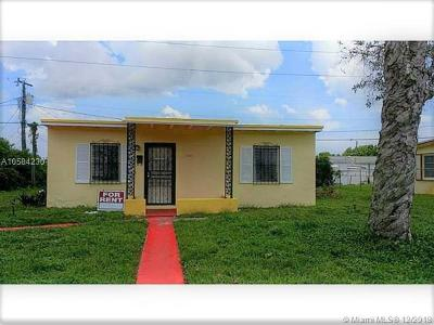 Opa-Locka Single Family Home For Sale: 15901 NW 19th Ave