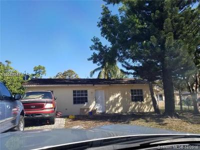 Fort Lauderdale Single Family Home For Sale: 428 NW 23rd Ave