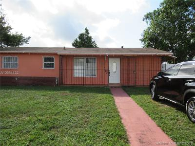 Miami Gardens Single Family Home For Sale: 3610 NW 197th St
