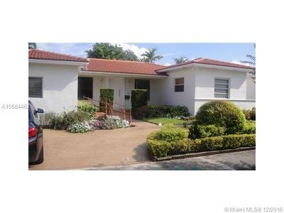 Miami Beach Single Family Home For Sale: 1431 Daytonia Rd