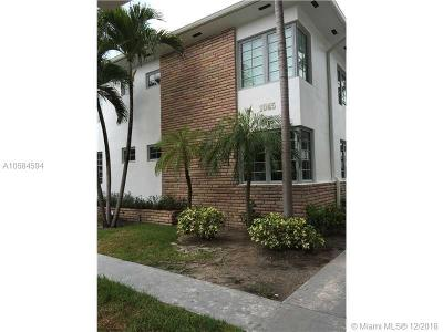 Miami-Dade County Condo For Sale: 1045 Lenox Ave #1