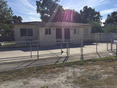 Miami Multi Family Home For Sale: 2440 NW 99th St