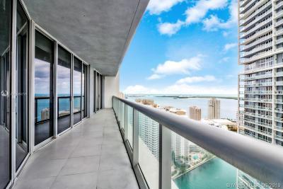 Miami-Dade County Condo For Sale: 475 Brickell Ave #3709