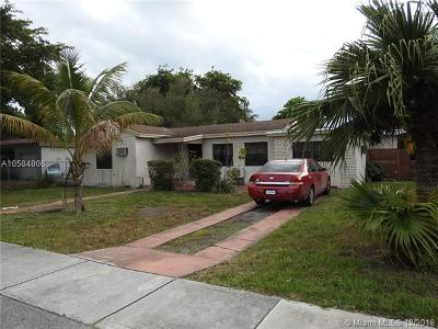 Miami-Dade County Single Family Home For Sale: 1250 NE 130th St