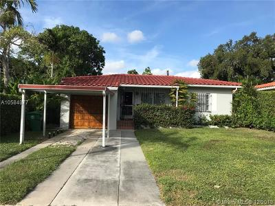 Miami Single Family Home For Sale: 1781 SW 24th St