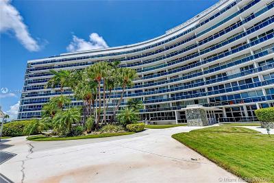 Miami Beach Condo For Sale: 900 Bay Dr #727