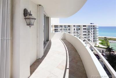 Miami Beach Condo For Sale: 5151 Collins Ave #1024