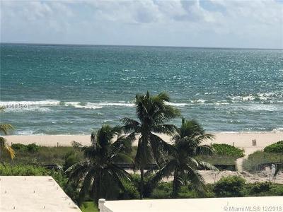 Miami Beach Condo For Sale: 5001 Collins Ave #5E