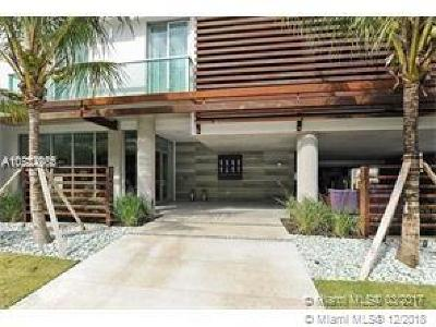 Miami Beach Single Family Home For Sale: 1215 West Ave #204