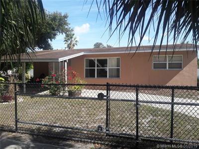 Hollywood Single Family Home For Sale: 6891 Douglas Street