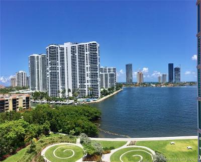 Miami-Dade County Condo For Sale: 3370 Hidden Bay Dr #902