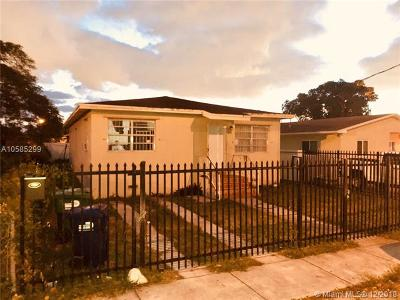 Miami-Dade County Single Family Home For Sale: 1878 NW 69th Ter