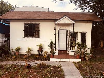 Miami Single Family Home For Sale: 1167 NW 50th St