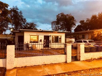 Miami Single Family Home For Sale: 6821 NW 6th Ave