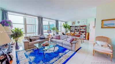 Miami Beach Condo For Sale: 5055 Collins Ave #6N