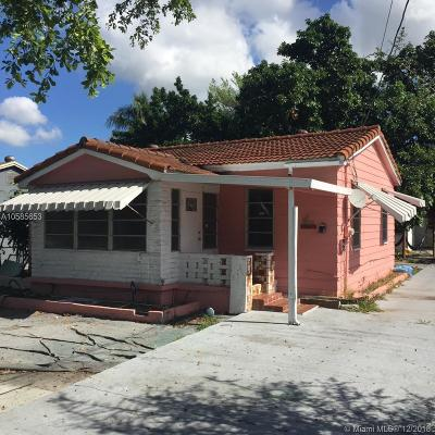 Miami Single Family Home For Sale: 10417 NW 6th Ave