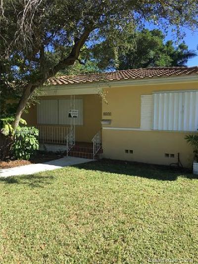 El Portal Single Family Home For Sale: 8653 NE Miami Ct