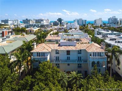 Miami Beach Condo For Sale: 243 Meridian Ave #212