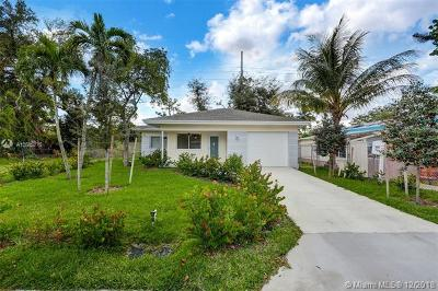 Fort Lauderdale Single Family Home For Sale: 2820 NW 9th Pl