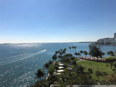 Miami Condo For Sale: 800 Claughton Island Dr #805