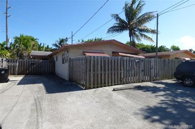 Fort Lauderdale Multi Family Home For Sale: 1700 N Dixie Highway