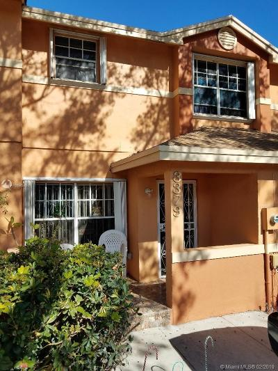 Miami Gardens Condo For Sale: 3379 NW 197th Ter #3379