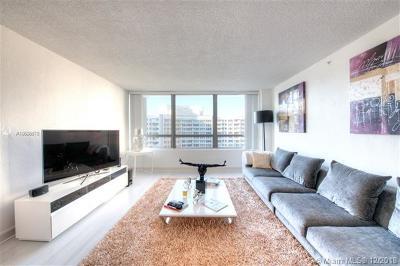 Miami Beach Condo For Sale: 1500 Bay Rd #1250S