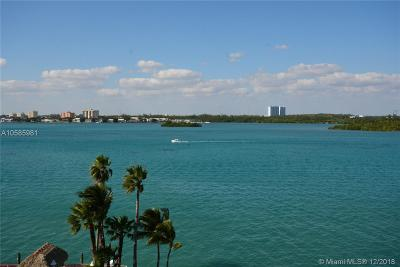 Bay Harbor Islands Condo For Sale: 10350 W Bay Harbor Dr #7AB