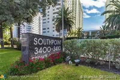 Fort Lauderdale Condo For Sale: 3400 Galt Ocean Dr #1603S
