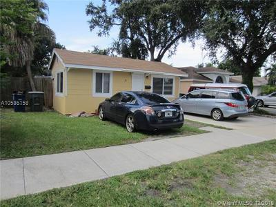 Broward County Single Family Home For Sale: 31 SW 7th St