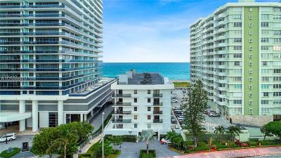 Miami-Dade County Condo For Sale: 5845 Collins Ave #504