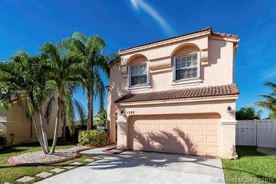 Pembroke Pines FL Single Family Home For Sale: $449,800