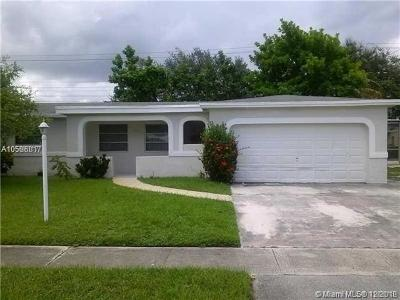 Lauderdale Lakes Single Family Home For Sale: 3131 NW 43rd St
