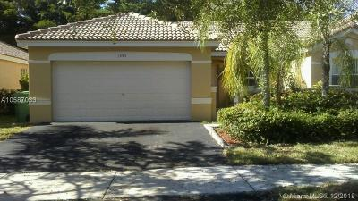 Weston Single Family Home For Sale: 1593 Zenith Way