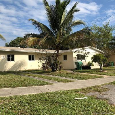Miami Gardens Single Family Home For Sale: 1375 NW 172nd Ter