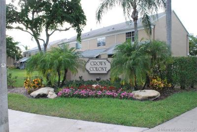 Cooper City Condo For Sale: 2912 S Edgehill Ln