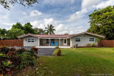 Davie Single Family Home Active With Contract: 1451 SW 139th Ave