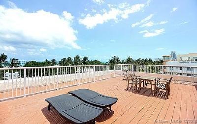 Miami Beach Condo For Sale: 918 Ocean Dr #40140240