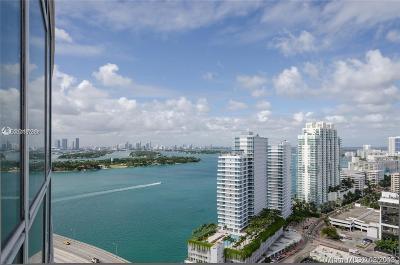 Miami Beach Rental For Rent: 450 Alton Rd #2508