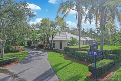 Palmetto Bay Single Family Home Sold: 6864 SW 145 Ter