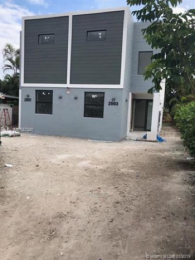 Miami Condo For Sale: 2881 SW 34th Ave #2881
