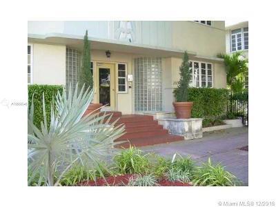 Miami Beach Condo For Sale: 359 Meridian Ave #A-104