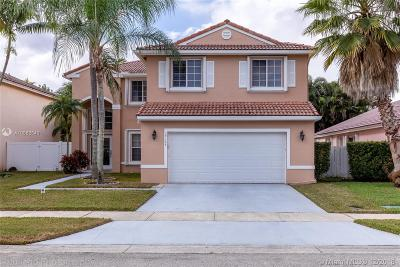 Pembroke Pines Single Family Home For Sale: 19164 NW 13th St