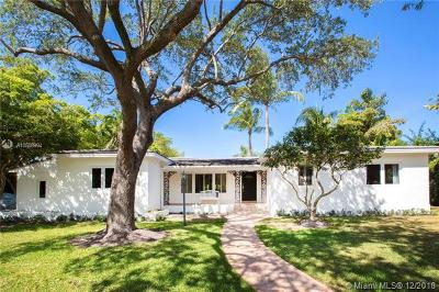 Coral Gables Single Family Home For Sale: 6601 Riviera Dr