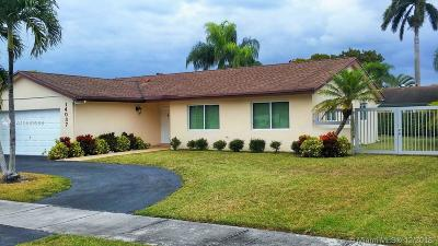 Miami Single Family Home For Sale: 14037 SW 47th Ln