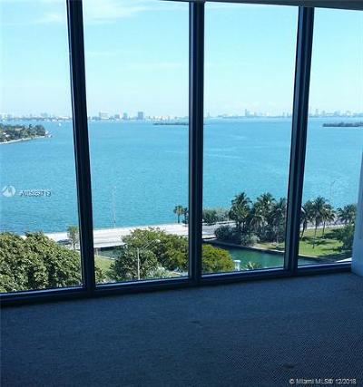 Blue Condo, Blue Condo - Waterfront, Blue Condominium Condo For Sale: 601 NE 36th St #909