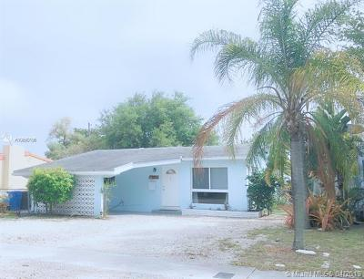 Fort Lauderdale Single Family Home For Sale: 252 SW 23rd St
