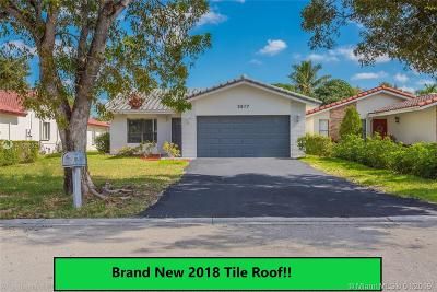 Coral Springs Single Family Home For Sale: 2577 NW 92nd Ave
