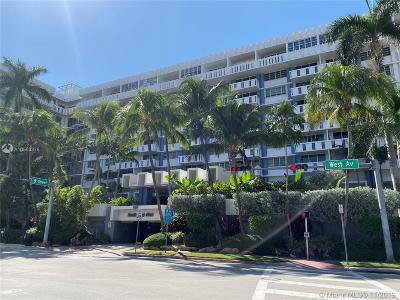 Miami Beach Condo For Sale: 800 West Ave #506