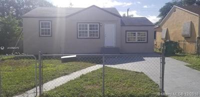 Miami FL Single Family Home For Sale: $250,000
